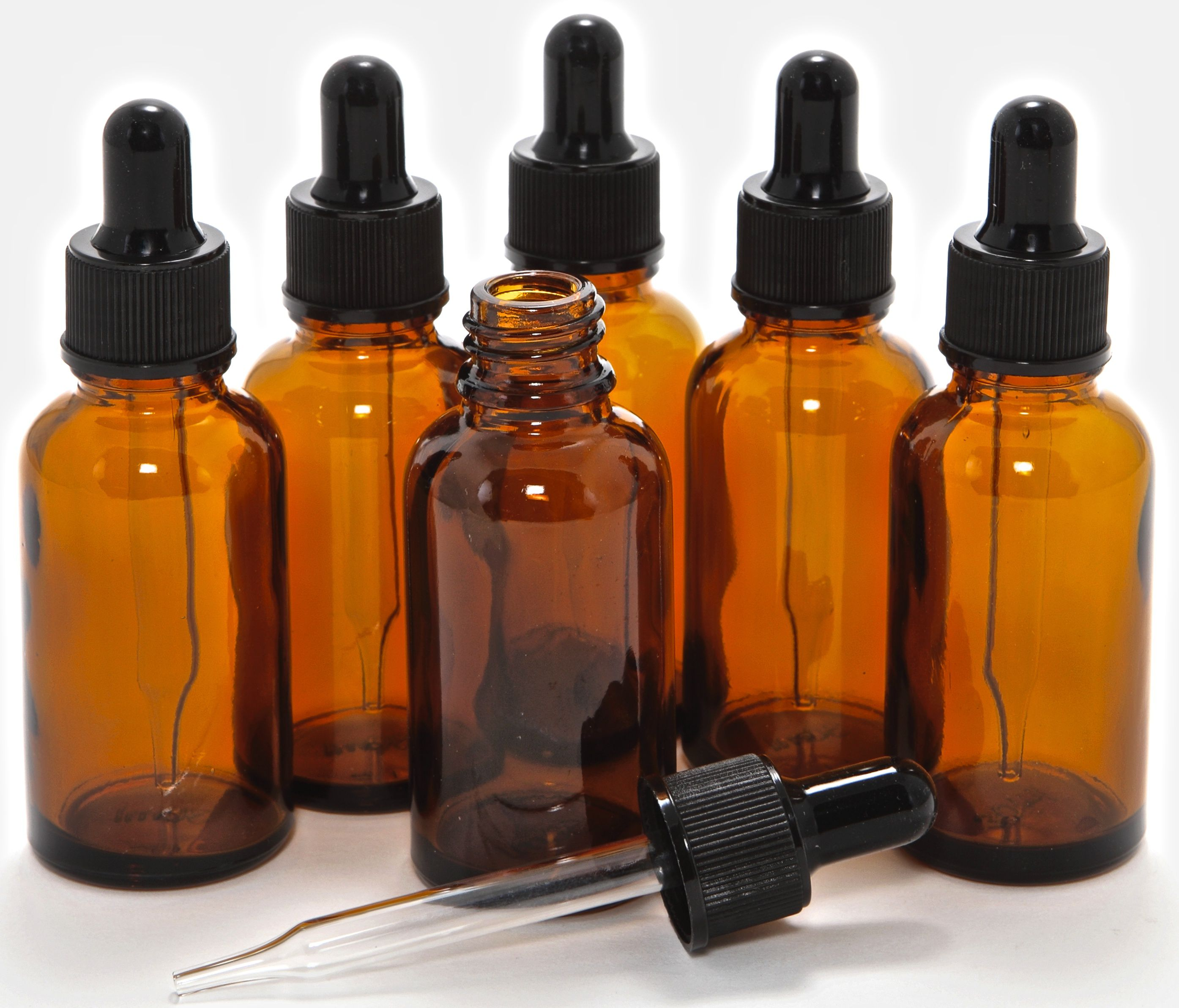750a4f035743 Glass Bottles with Glass Eye Droppers